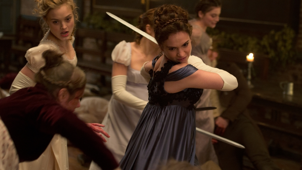 'Pride and Prejudice and Zombies' lacks bite and levity