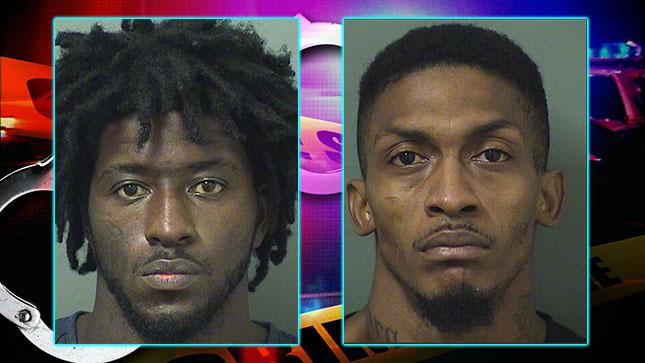 Javarie Williams is facing a charge of making a false report to a law enforcement officer in the search for double murder suspect Marlin Joseph, his cousin. (PBSO)<p></p>