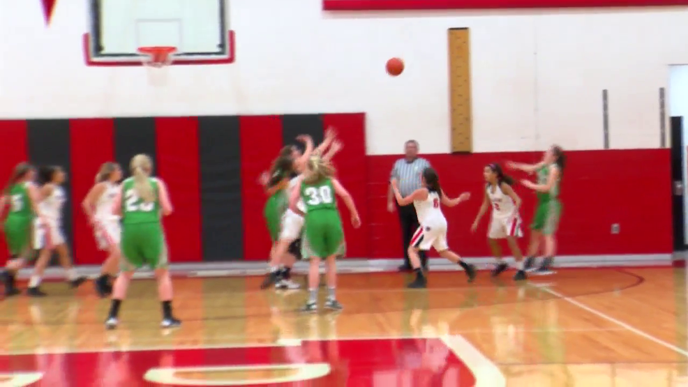 2.21.18 Highlights - Bellaire advances past Barnesville in girls hoops sectional opener