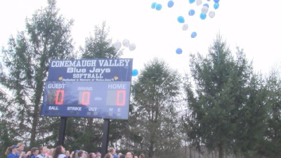 New Conemaugh Valley scoreboard honors former player