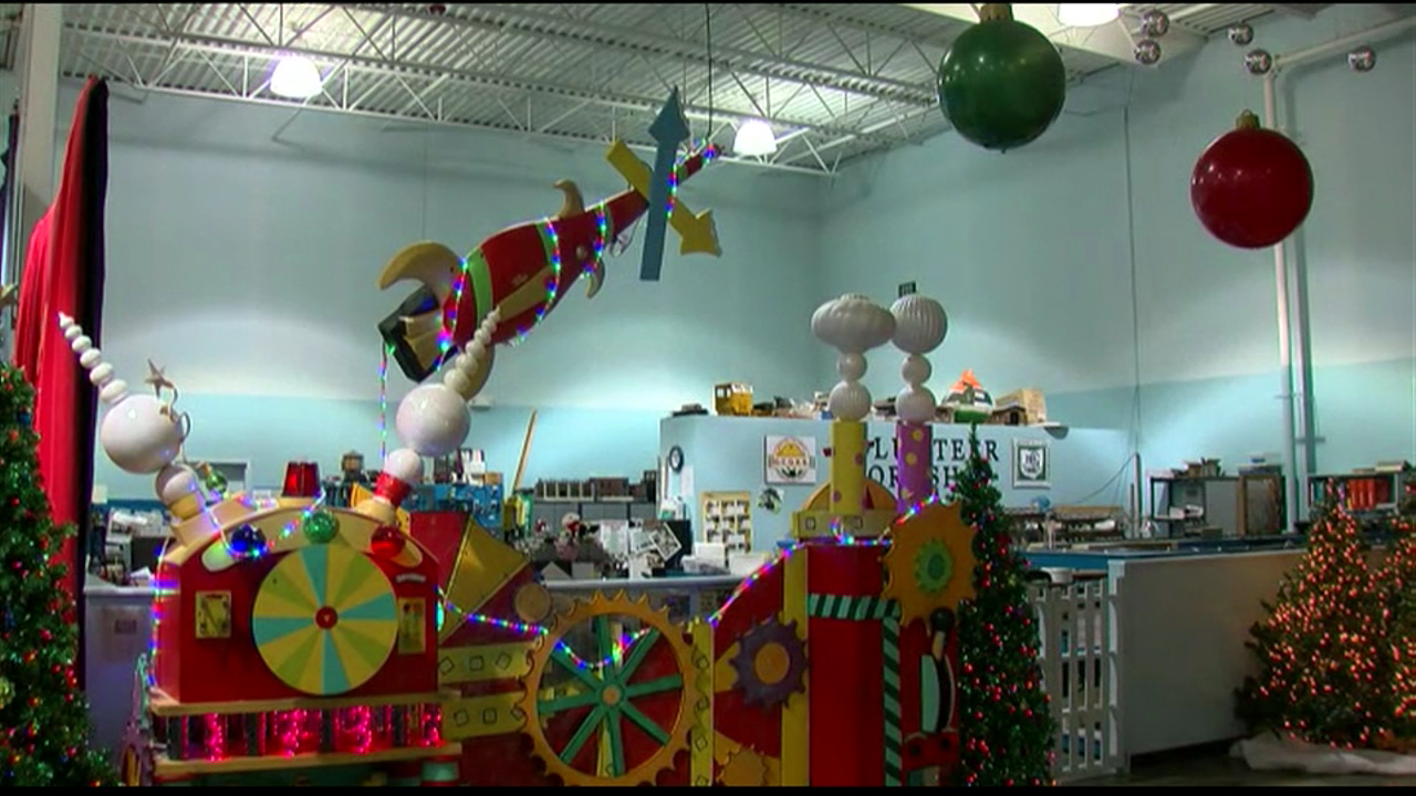 Locals looking for a trip through a Winter Wonderland can get their fix in West Chester (WKRC)