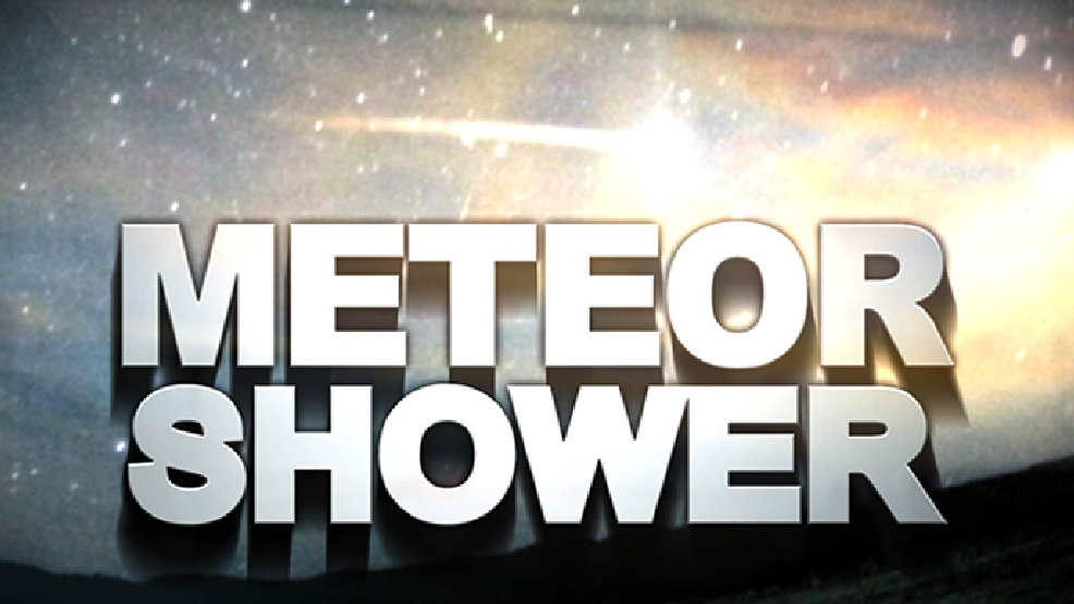 Halley S Comet Meteor Shower Peaks Thursday Evening Wpec