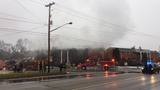 Multiple emergency crews respond to fire at Ballenger Manor Apartments in Flint