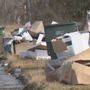 Piles of debris outside of homes leave residents confused; city responds