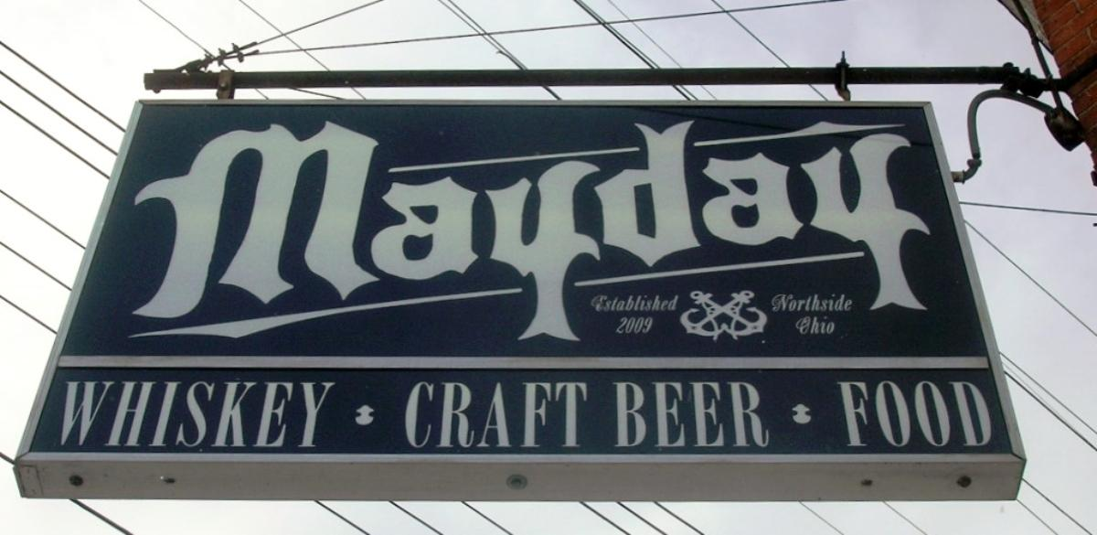 Mayday. The sign says it all. / (Image: Ericka McIntyre)