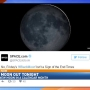 Rare black moon darkening the sky Friday