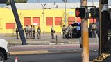 1 suspect dead, 1 in custody after chase & shots fired in downtown Las Vegas