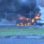 Unusual car fire breaks out in Pasco