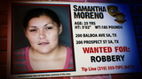 On The Run: Samantha Moreno