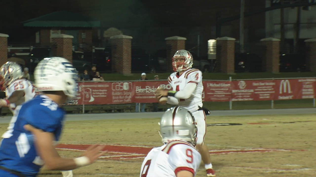 It is the time of the year when high school seniors take off their football jerseys for the final time, a playoff loss not only signaling the end of a season but of a career, the realization that never again will they run on the field for the thrill of playing on Friday nights. (Photo credit: WLOS Staff)
