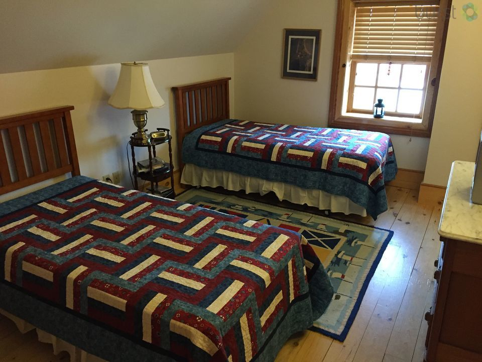 Tawas Point Lighthouse bedroom<p></p>