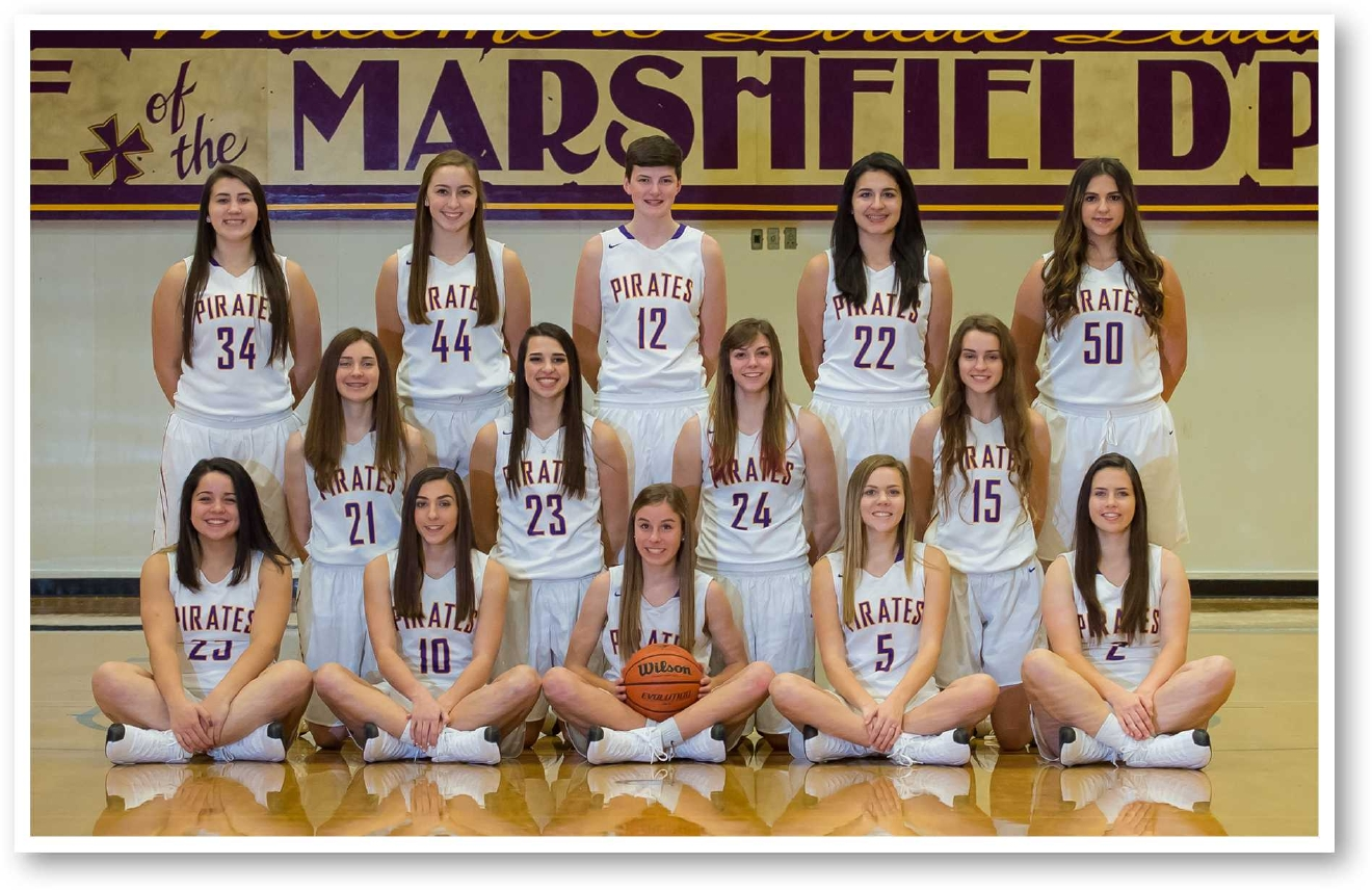 Marshfield girls basketball (OSAA photo)