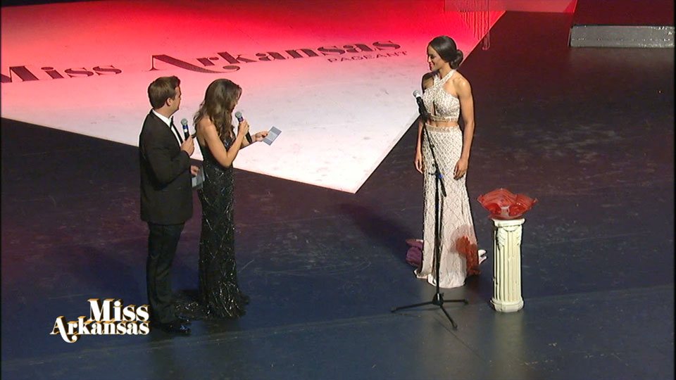 Miss Arkansas interview round: Ashley Ehrhart Question (Photo: KATV)