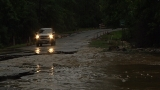 Heavy rains wash out roads and dam in Tyler Co.; Mandatory evacuation ordered