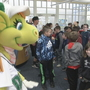 Dayton Dragons visit local schools to meet with kids