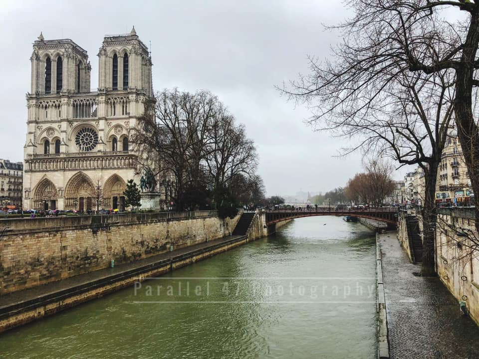 Locals shared their memories and photos of the historic Notre Dame on April 15, 2019 after hearing the gothic Parisian cathedral suffered serious damage after a fire. (Image - Jared Grimes)