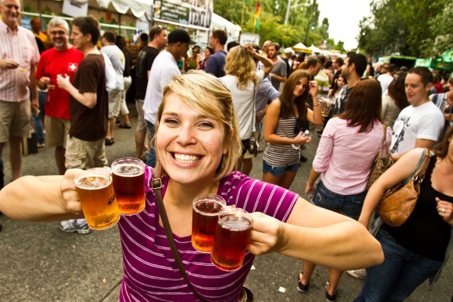 Try out some great beers at the Fremont Oktoberfest Beer Tasting.