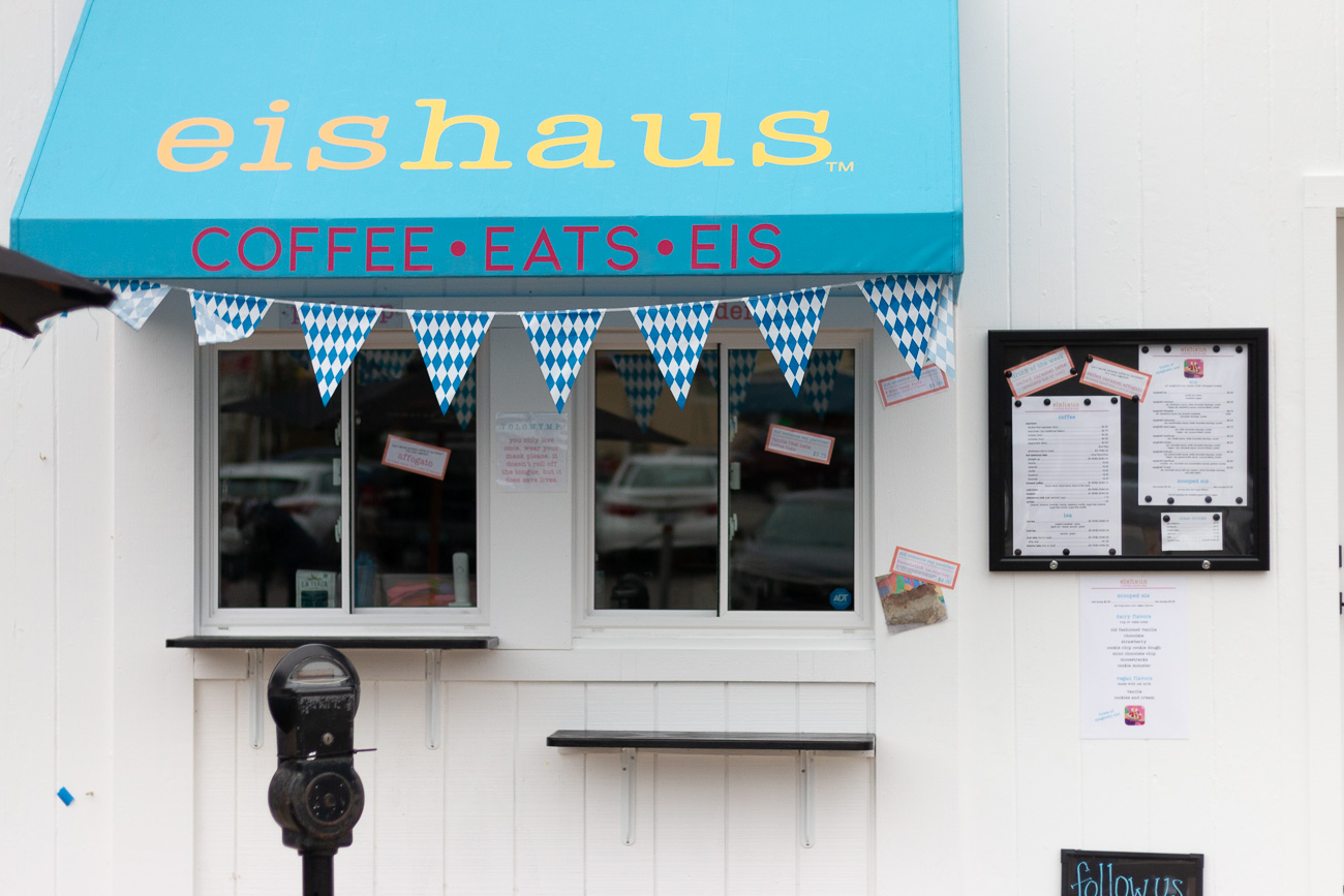 Eishaus is a Covington ice cream shop that specializes in German-style spaghetti ice cream along with La Terza Artisan Coffee, pastries, and vegan-friendly items. The owners were inspired by family recipes as well as eiscafés they'd frequent while visiting their family in northern Germany. It was at these ice cream parlors where they'd enjoy spaghettieis—a dish made to look like spaghetti by pressing vanilla ice cream through a modified potato ricer. They knew they wanted to introduce their favorite dessert to Covington and opened the shop near the corner of Court Street and Park Place in September 2020. ADDRESS: 117 Park Place (41011) / Image: Mike Menke & Lacey Keith // Published: 10.26.20<p></p>