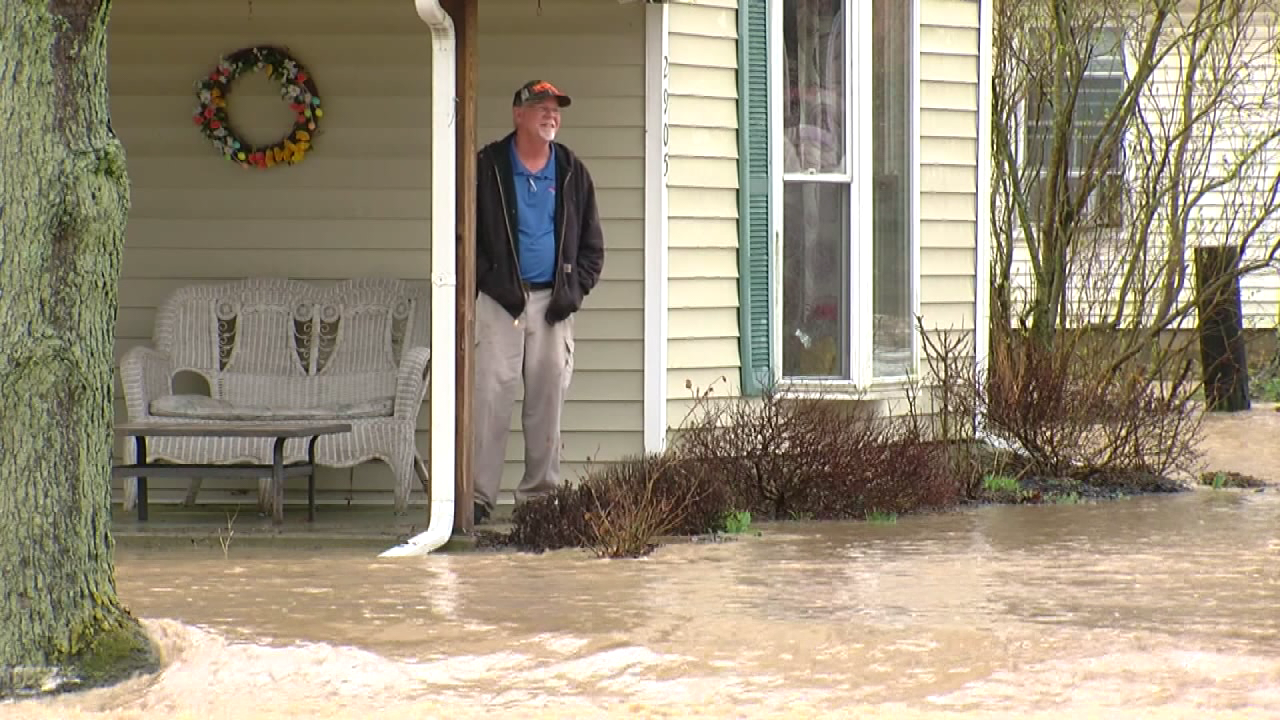More than three inches of rain fell overnight in some areas of Butler County which caused flash flooding. (WKRC)