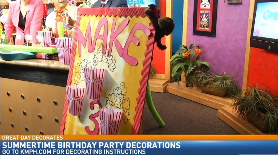 Birthday Party Decorating with Doug Alves: Carnival Games