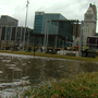 Riverfront in jeopardy due to rising waters coming up through pipes