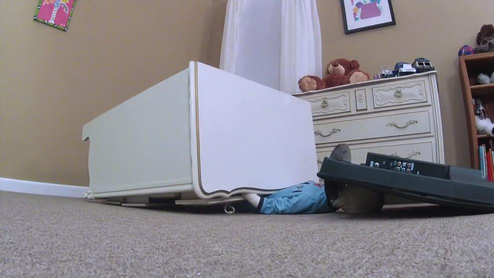 Falling furniture and televisions could end a child's life in a split second. But There's a simple and inexpensive prevention tool that could keep your family from the horror mom and dads have gone through. (WSYX/WTTE)