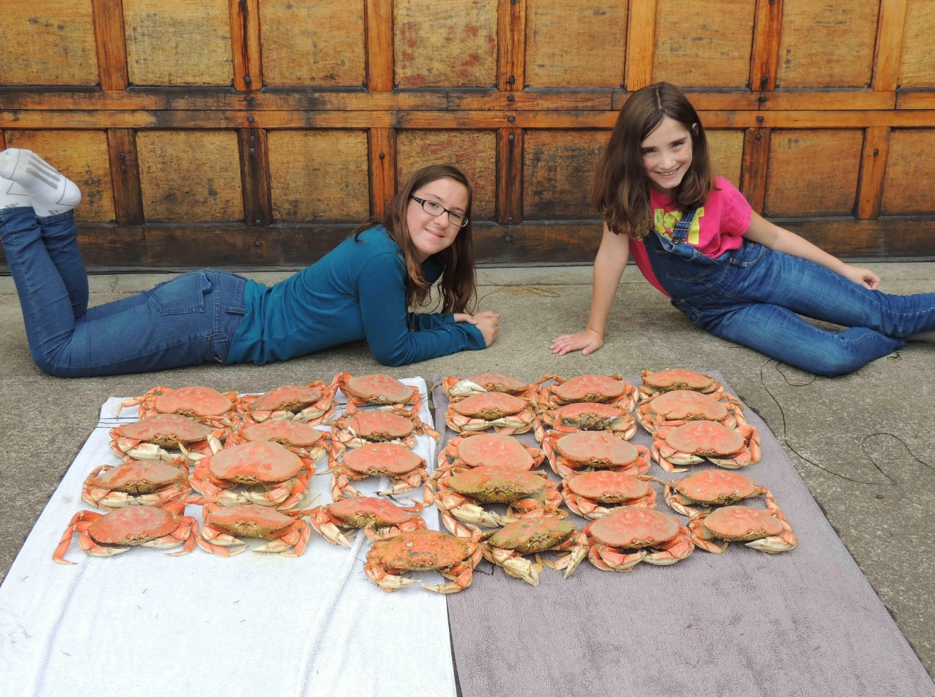 Make like a hunter-gatherer and catch some dungeness crabs for dinner. Photo Credit: Visit Tillamook Coast