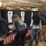 Lee County high schoolers fill out ballots in mock election