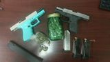 Pinehurst PD: Two arrested after officer finds loaded pistol, marijuana in traffic stop