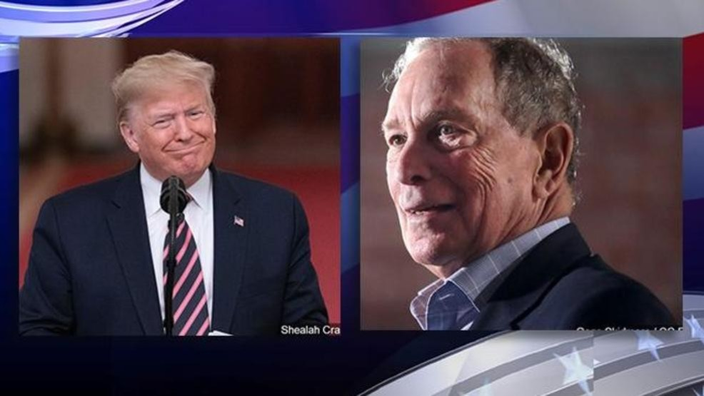 Poll: Bloomberg leads Trump in Florida