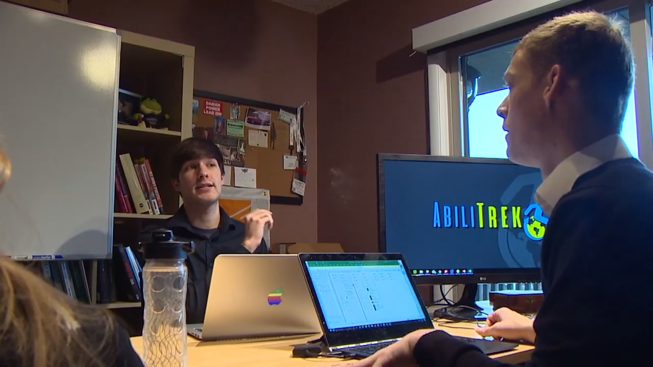 Bellingham-based start-up Abilitrek helps people with disabilities make travel arrangements that fit their specific needs. (Photo: KOMO News)