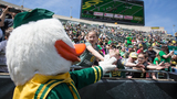 Ducks win! Watch the Oregon Spring Game at Autzen on Saturday for 3 cans of food