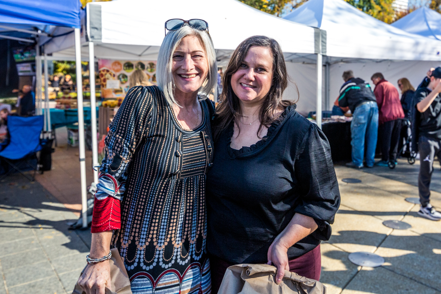 Allison Holliday and Debi Ash / Image: Catherine Viox{ }// Published: 10.28.19