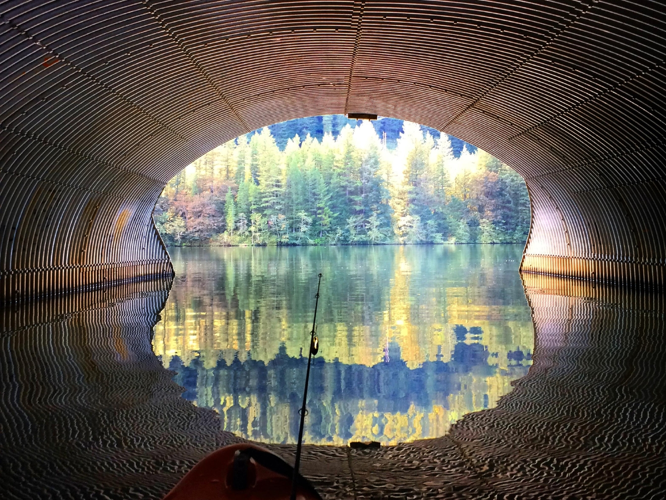Culvert connecting North Fork Clackamas River to North Fork Reservoir (David Campbell/CC by 2.0)