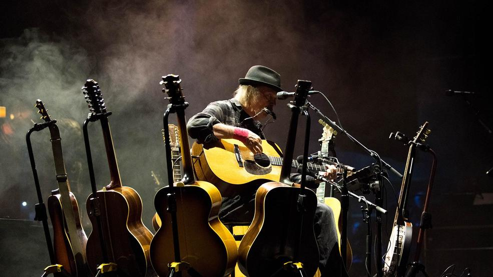 Photos: Neil Young plays solo show at Portland's Keller Auditorium