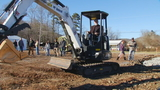 Transylvania County officials break ground on manufacturing facility