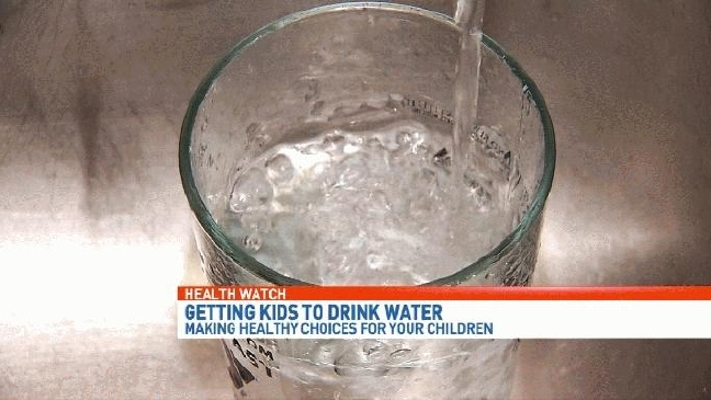 Health Watch: How to get your kids to drink plain water