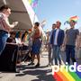 Facebook founder Mark Zuckerberg attends Omaha's Pride festival