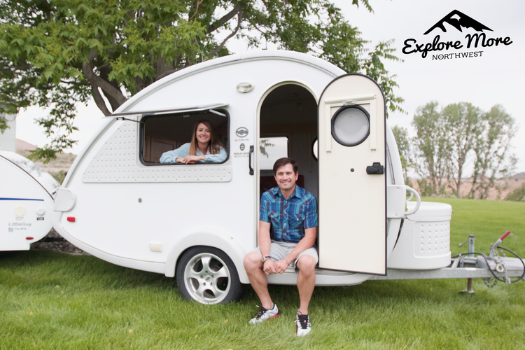 The owners of Explore More Northwest were born and raised in Eastern Washington and currently reside in the Tri-Cities. They bought their first teardrop in 2014 and enjoyed camping out of it for quick weekend getaways around the Pacific Northwest.