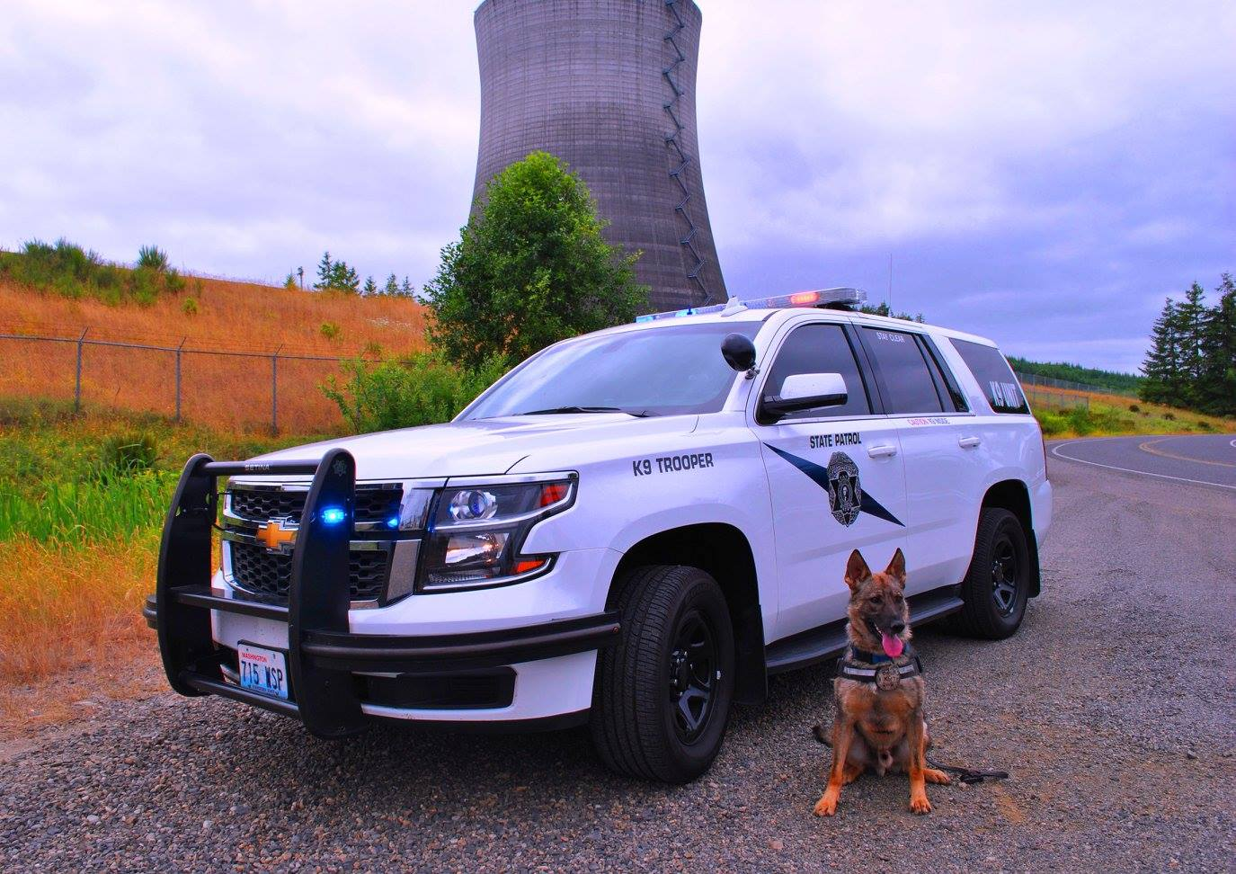 Washington State Patrol. (American Association of State Troopers|Facebook)