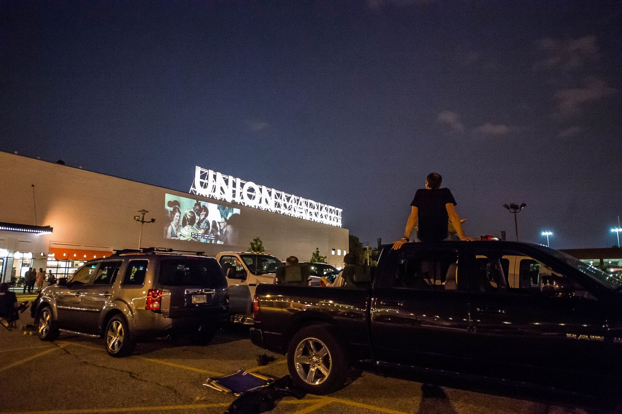 Union Market Drive-In Series (Photo by Joy Asico)