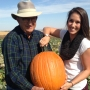 Pick your pumpkins from the vine at Hatch Patch