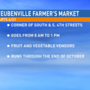 Farmer's Market to set up shop in Steubenville Thursday morning