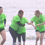 Several members of the ABC News 4 Crew took a plunge for a cause