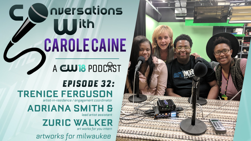 Conversations with Carole Caine | Episode 32: Artworks For Milwaukee