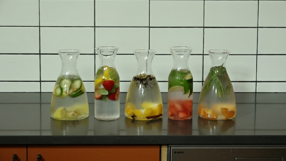 Check these easy recipes and health benefits for infused water