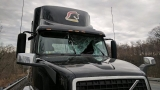 Bird shatters windshield of truck on I-95 in Harford County