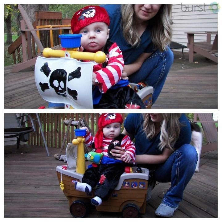 Joshua is ready to take over the high seas as an adorable pirate! Submitted by Aaron Nestor