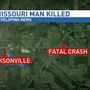 Missouri man dies in Morgan County crash