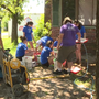 Forty out-of-state teenagers repairing flood damaged homes in Columbia